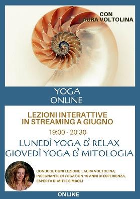 Yoga online - lezioni interattive