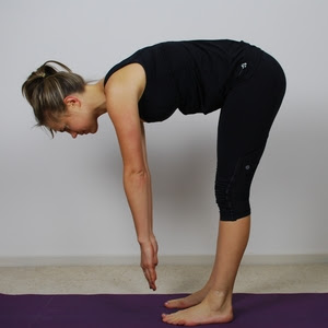 Standing forward flexion