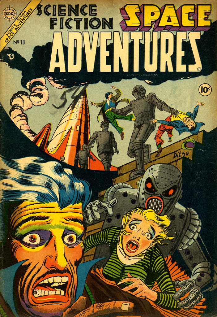 Space Adventures #10 (Charlton, 1954)