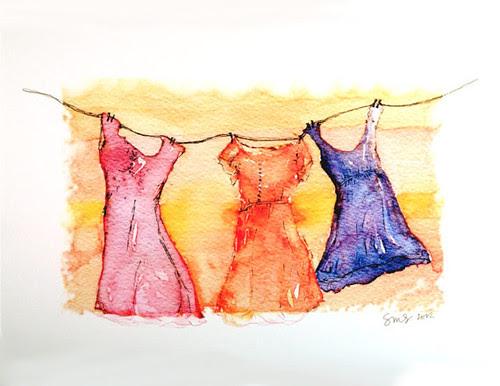 Fluttering-Dresses-Art-Print