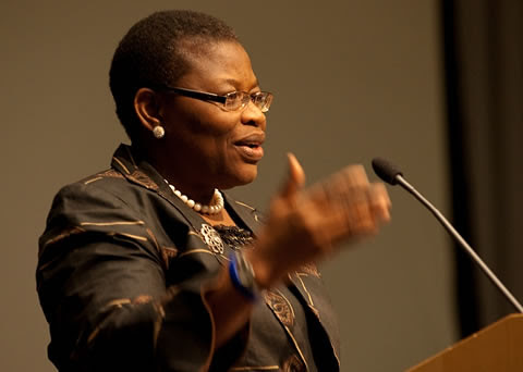 Dr. Oby Ezekwesili is the a former Vice-President of the World Bank for Africa. She is originally from the West African state of Nigeria. by Pan-African News Wire File Photos