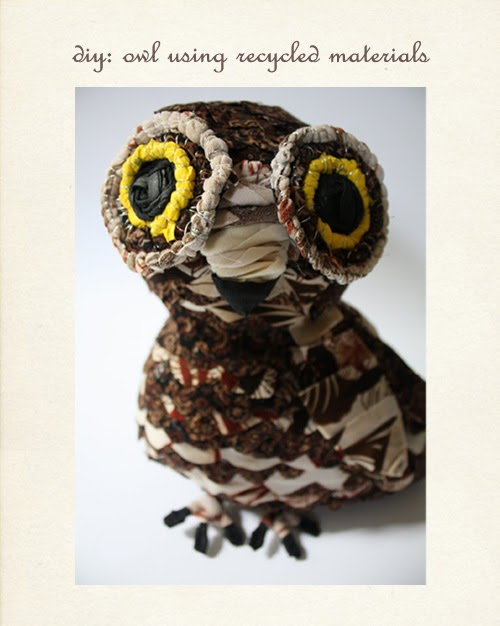 My Owl Barn Diy Make Owl From Recycled Material