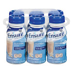 Ensure Complete Balanced Nutrition Drink Vanilla Flavour By Ross Nutritional, #00711, 8 Oz, 6 bottle/pack