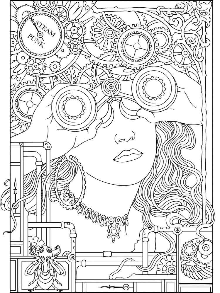 Art Therapy Coloring Pages For Adults. Free Printable Art Therapy Coloring  Pages. - Coloring Pages