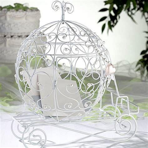 Wedding Gift Card Holder   Fairy Tale Coach White