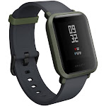 Amazfit Bip - Smart Watch with Heart Rate Monitor - White
