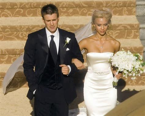 Jessica alba wedding dress   Luxury Brides