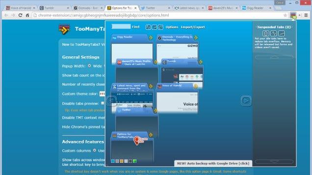 8 extensiones muy útiles para gestionar tus pestañas en navegadores