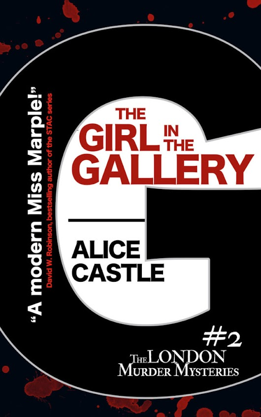 THE GIRL IN THE GALLERY by Alice Castle #coverreveal #cozycrime