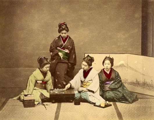 19th Century Japanese Life in Color