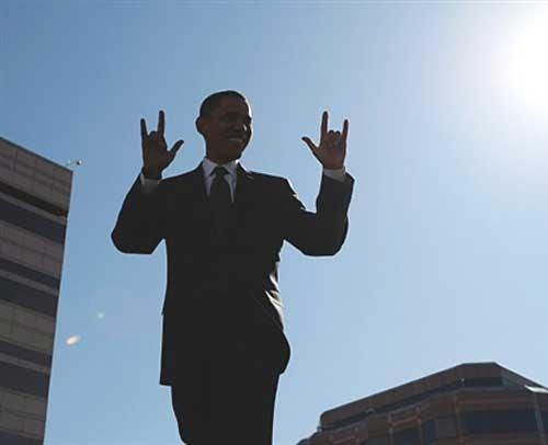 Obama+baphomet