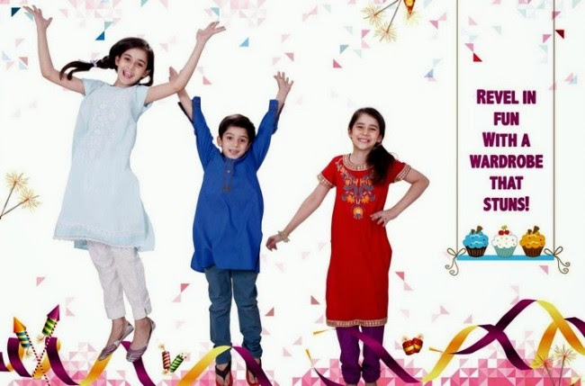 Beautiful-Boys-Girls-Kids-Eid-New-Fashion-Suits-Dress-by-Nishat-Linen-1