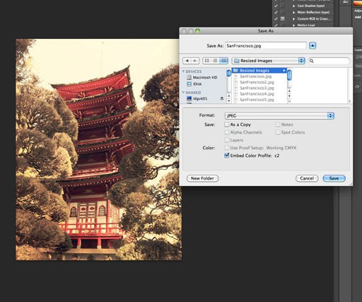How to resize multiple images in Photoshop - Tutorials