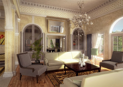 40 Excellent Examples of Interior Designs Rendered in 3D Max