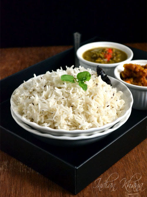 Jeera Rice(Pulao) Recipe Easy Lunch Box Recipes