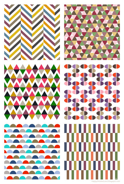 Color Play: 6 Patterns