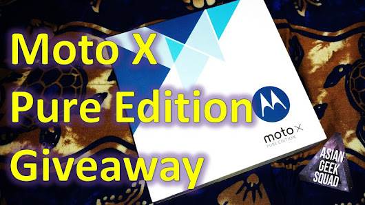 Moto X Pure Edition International Giveaway!