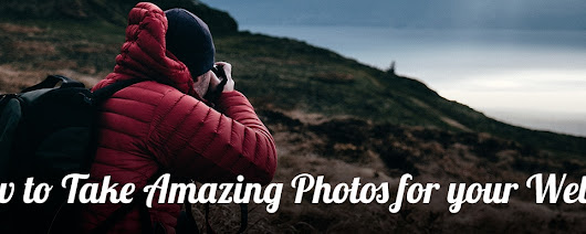 How to Take Amazing Photos for your Website - PageCrafter