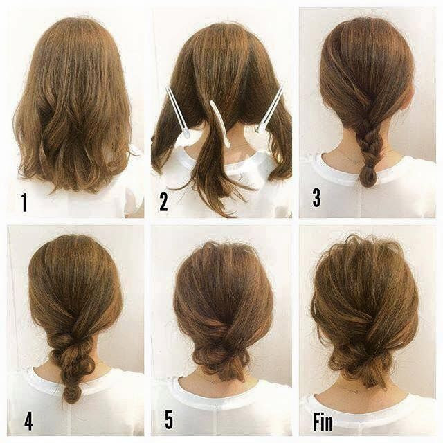 Fashionable Braid Hairstyle by American Beauty