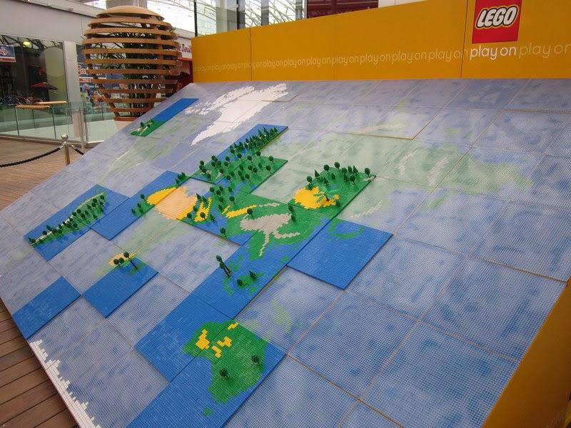 Mappemonde+Lego