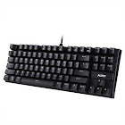 Openbox Aukey Gaming Mechanical Keyboard with Blue Switches, 87-Key Water USB KM-G9