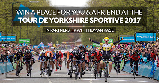 Win an Entry to The Maserati Tour de Yorkshire Ride