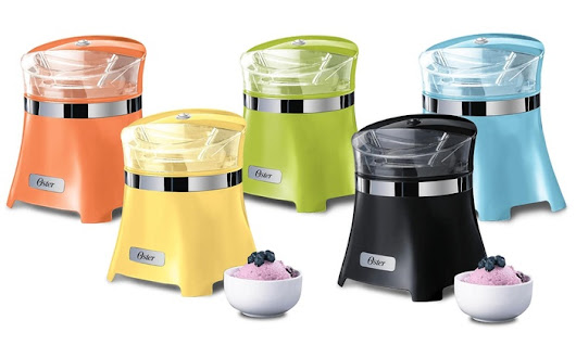 $29.99 Oster 1.5-Quart Ice-Cream, Frozen-Yogurt, and Sorbet Maker! Free Shipping