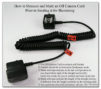 OC1037: How to Measure and Mark an OCC to be Shortened for use with a Camera Bracket