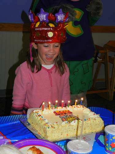 November - Ava's Birthday - Blowing Out Candles