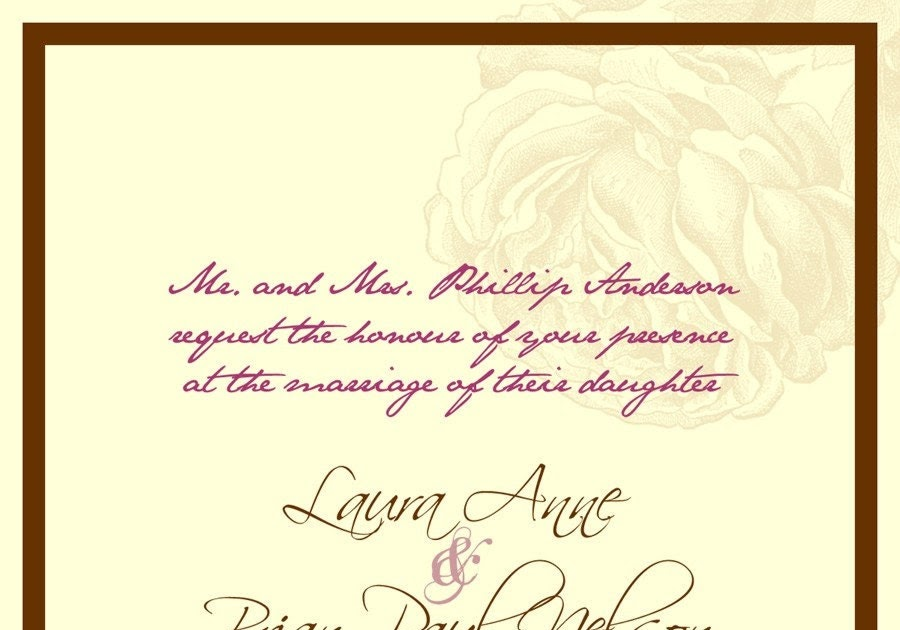 Roman Catholic Wedding Invitation Wording alesiinfo