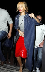 Rihanna WAG Night out in Manchester 2