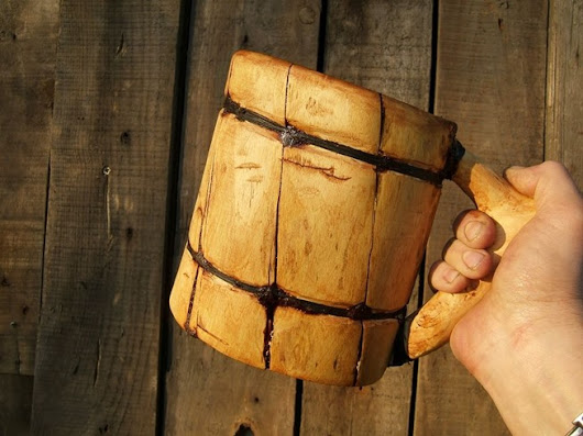 Real Men Make Their Own Viking Beer Mugs—Without Using Power Tools - TECH WORLD