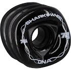 Shark Dna 72Mm 78A Solid Black/Wht Wheels Set