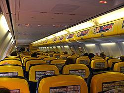 Onboard Ryanair 737