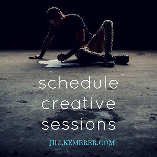 Scheduling Creative Sessions {Writer Wednesday} - Jill Kemerer | Christian Romance Author
