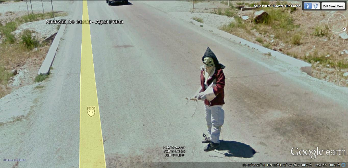 Another Scary Mexican Google Street View World Funny