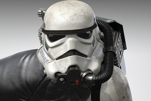 Star Wars: Battlefront's Absolutely Badass Stormtrooper Image Revealed; it's a Rendered In-Game Asset (UPDATED)  |  DualShockers