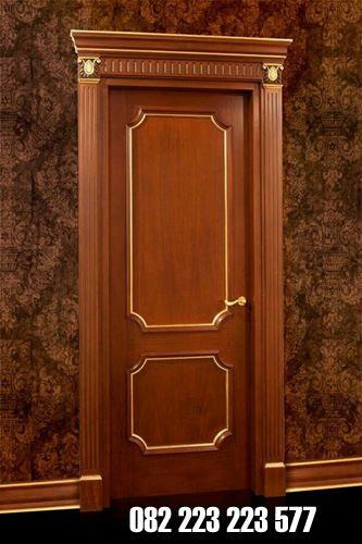 Model Pintu Kamar Kayu Jati Terbaru Desain Minimalis Kusen Pintu Jati