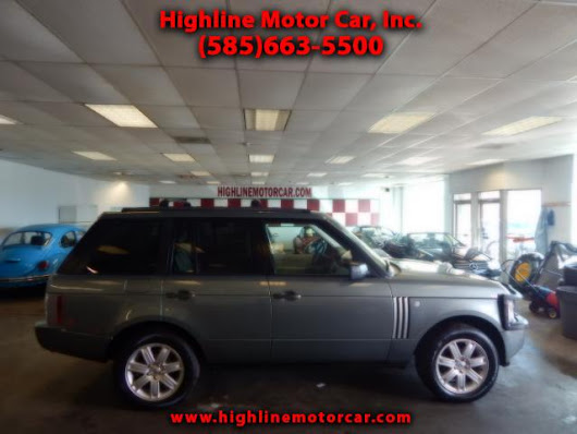 Used 2006 Land Rover Range Rover for Sale in Rochester NY 14615 Highline Motor Car, Inc.