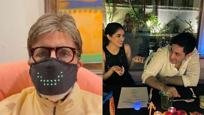 Amitabh Bachchan shows-off his 'new acquisition', leaves grandkids Navya Naveli Nanda and Agastya stunned! | Hindi Movie News - Bollywood - Times of India