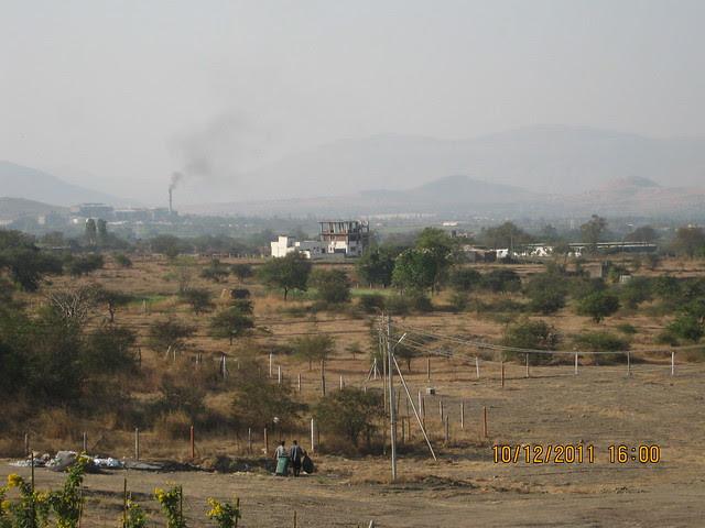 View of the New Cricket Stadium, Somatane Phata and Sugar Factory Area from  Kolte-Patil Life Republic, Marunji - Hinjewadi, Pune 411 057