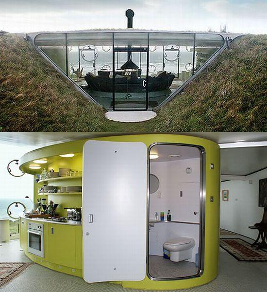 perierga.gr - Ένα σπίτι... κρυμμένο στο έδαφος!