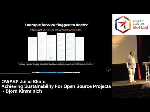 OWASP Juice Shop – Achieving sustainability for open source projects