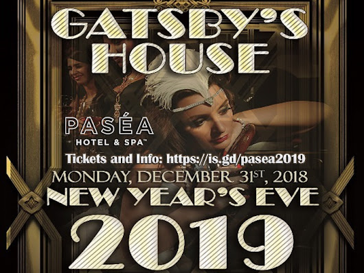 Gatsby House Orange County New Years Party