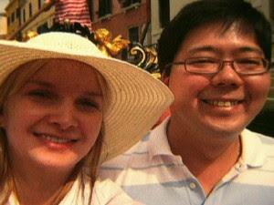 O casal Elize e Marcos Matsunaga (Foto: Reprodução Globo News)