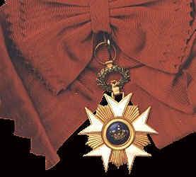 Grand Cross Sash Badge, Order of the Crown