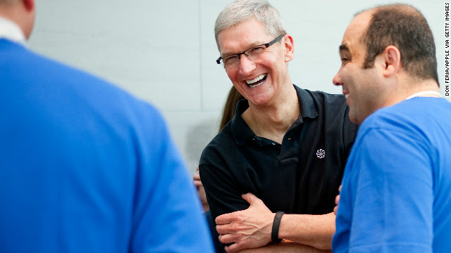 Apple CEO Tim Cook is known to wear a Nike FuelBand to monitor his fitness. Could an Apple watch be replacing it soon?