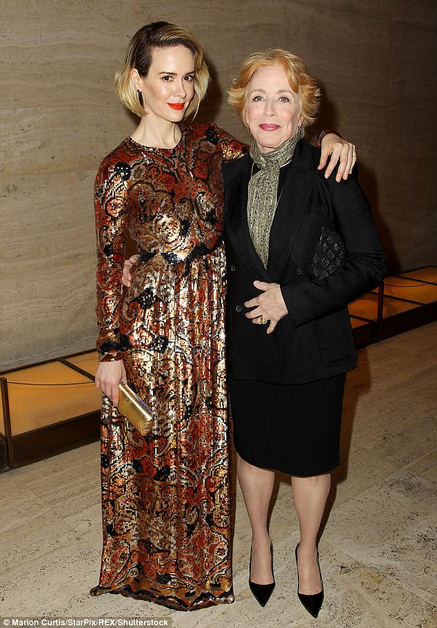 Fascination: The actress, 42, admitted that she couldn't understand the fascination over her romance with 74-year-old actress and playwright Holland Taylor