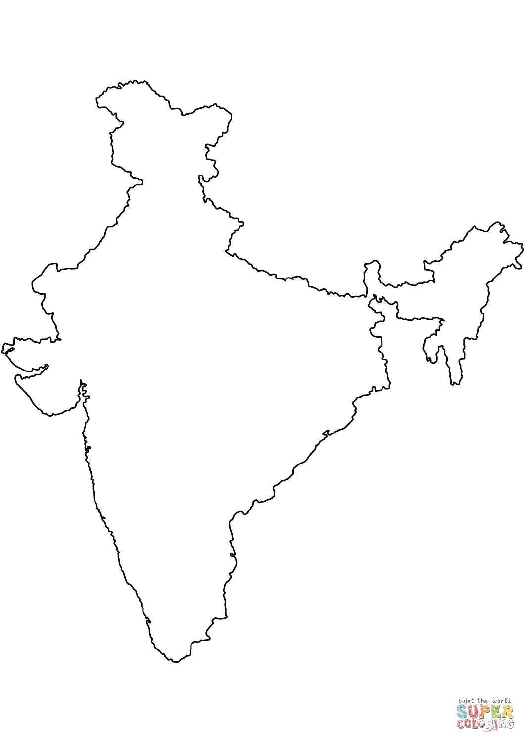 Image Result For Physical Map Of India Wikipedia