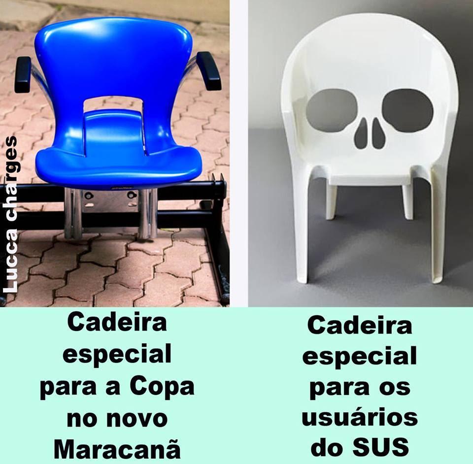 Cadeira da Copa X Cadeira do Sus